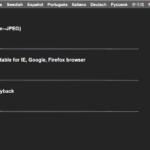 Interfata web wanscam hw0041